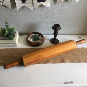 Solid Wood Farmhouse Rolling Pin